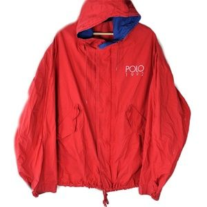 VTG Polo Ralph Lauren Spell Out Red 1992 Olympic
